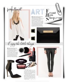 """""""Frontrowshop Contest"""" by hanicelma ❤ liked on Polyvore featuring Front Row Shop, Philippi Design, Bebe, Balenciaga, Monet, Charlotte Russe, NARS Cosmetics, Mary Kay and frontrowshopcontest"""
