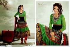 Anarkali style which suits on your personality..