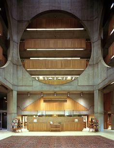 Phillips Exeter Library atrium Highsmith - Phillips Exeter Academy Library – Wikipedia