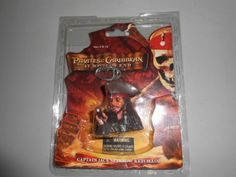 Disney Pirates of the Caribbean Captain Jack Sparrow Keychain Key Chain At World s End