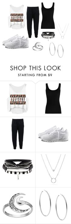 """Laid Back"" by justbrandy79 on Polyvore featuring Twenty, Brunello Cucinelli, Reebok, Primrose and Michael Kors"
