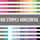 Big Stripes Horizontal Digital Background Paper - Commerci