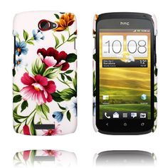 Valentine (Two Pink Flowers) HTC One S Cover