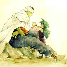 Piccolo & Gohan