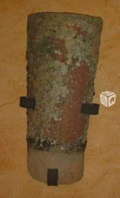Aplique r stico con forja madera y teja apliques - Apliques de luz rusticos ...