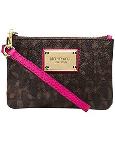 Buy michael kors jet set small signature wristlet > OFF58