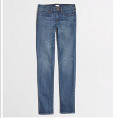 JCrew Factory Mid-Rise Skinny Jean New with tags! J. Crew Jeans Skinny