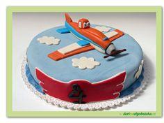 """37. Marcipánový dort  Letadla """"Planes"""""""