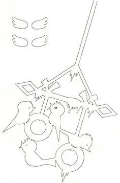 ПТИЦЫ - Снегири - Подвеска, Украшение для окон, комнаты, класса, зала к Рождеству, Новому году! :: Блог Лики: Своими руками
