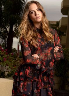 Cara Delevingne for USA Today July 2015 Photoshoots