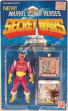 """Check out the deal on """"OUT OF STOCK"""" Secret Wars - Baron Zemo (Mint on card) at Action Toys and Collectables Comic Book Superheroes, Comic Book Heroes, Photo Bubbles, Marvel Secret Wars, Baron Zemo, Weird Toys, Old School Toys, Cartoon Toys, Kids Zone"""