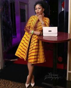 Your Ankara Styles Just Got Better; Checkout These Classy And Unique Ankara Styles For This Christmas Season - Wedding Digest Naija African Fashion Designers, African Inspired Fashion, Latest African Fashion Dresses, African Dresses For Women, African Print Fashion, African Attire, African Wear, African Women, Fashion Prints