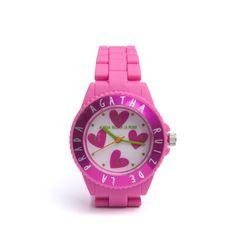 Corazón de reloj. A.Ruiz de la Prada Prada, Casio Watch, Love Heart, Jewerly, Hearts, Colorful, Fan, Couture, Girls