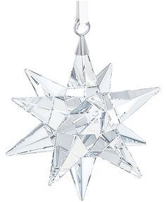Swarovski Star Christmas Ornament - Christmas Ornaments - For The Home - Macy's