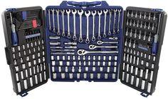 Kobalt Standard (SAE) and Metric Mechanic's Tool Set with Hard Case (200-Piece) #Kobalt