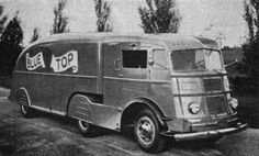 """I love the looks of classic trucks, especially the """"streamlined"""" ones."""