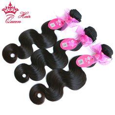 Koningin Haarproducten Braziliaanse Virgin Haar Body Wave Braziliaanse Haar Weave Bundels Onverwerkte Human Haarverlenging SNELLE VERZENDING