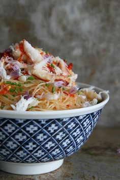 Spicy Crab and Chili Noodles by Heather Christo, via Flickr
