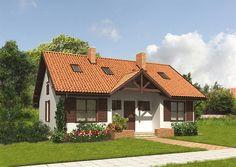 Projekt domu Murator M03 Moje miejsce (etap II)