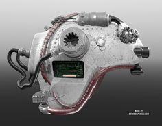3d helmet model, #3d, #highpoly, antonidepowski