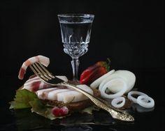 фотографии с водкой и закуской -1- 14