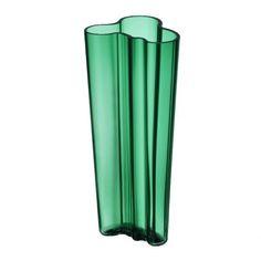 Iittala Alvar Aalto Vase 255 mm Smaragd