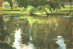 """Dean Fisher """"Summer Pond"""""""