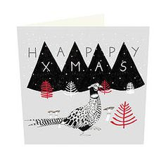 Christmas Pheasant card