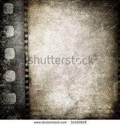 stock photo : vintage film background