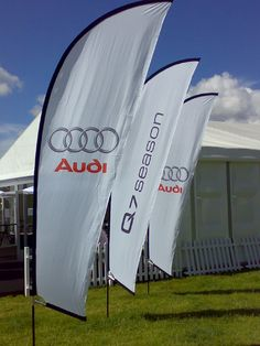 Audi banner for the International Flags, Buy Flags, Surfboard, Banners, Audi, Public, British, Things To Come, Building
