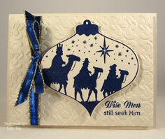 Cream and Navy Wise Men_lb by Clownmom - Cards and Paper Crafts at Splitcoaststampers