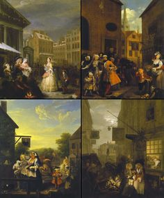 Hogarth: Four times of the day