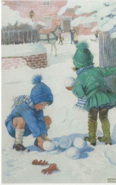 HONOR C APPLETON CHRISTMAS CARD WINTER | eBay