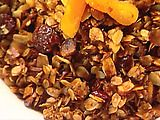 ina garten's granola - my favorite homemade granola recipe. play with the ingredients to find what you like best.  i like to add a little vanilla in the wet mixture - yum!