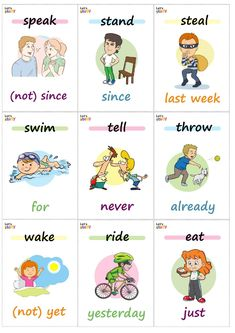 Present Perfect & Simple Past Card Game by Olynj Learning English, English Class, English Lessons, English Grammar, Efl Teaching, Teaching Resources, Verb Games, Pasado Simple, Life Timeline
