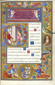 1505 Use Of Rome Book Of Hours Facsimile