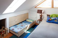 Hidden Bed Drawer | Brooks residence | Duvivier Architects | Archinect