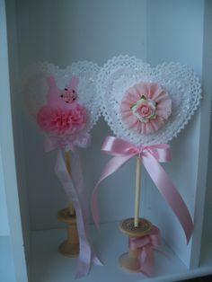 Custom Decorative Birthday Party Wand and Valentine Decoration. $6.00, via Etsy.