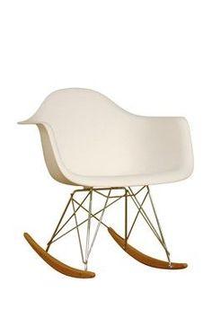 Stylish rocking chair pinterest rocking chairs for Schaukelstuhl ikea lillberg