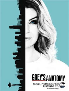 'Grey's Anatomy' Season 13 is looking like 'Mer and the City.' The season premieres September 22 on ABC, and TVLine just shared the official poster, which offers a new look for Meredith Grey (Ellen Pompeo). Grays Anatomy Tv, Greys Anatomy Memes, Greys Anatomy Online, Orphan Black, Best Tv Shows, Movies And Tv Shows, Preston, Grey's Anatomy Season 13, Jackson