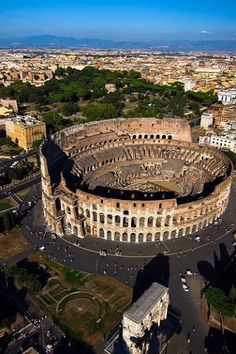Coliseum.. Rome, Italy. Once a masterpiece of Architecture, with the first ever removable stadium canopy! Incredible!! Yet also a place that has flowed with the blood of so many martyrs that the very sand of the arena is a relic.
