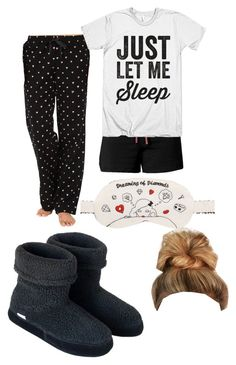 """Pajama"" by makenna03 ❤ liked on Polyvore featuring Jockey, Life is good, Morgan Lane, Polar Feet and Ultimate"