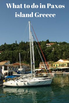 What to do in the Greek island of Paxos