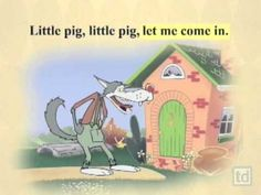 ▶ The 3 Little Pigs - YouTube - I 3 Porcellini - Video scolastico