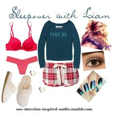 Inspired - Sleepover with Liam, created by one-direction-inspired-outfits on Polyvore