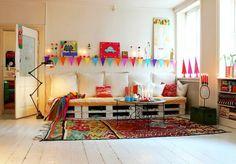 pallets na decoração - Pesquisa Google