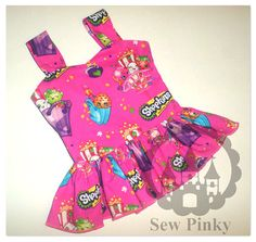 Hey, I found this really awesome Etsy listing at https://www.etsy.com/listing/278551856/shopkins-birthday-dress-custom-shopkins