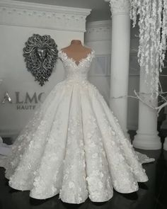 May 2020 - Ball Gown Wedding Dresses, Princess Wedding Dresses, Dream Wedding Dresses Crystal Wedding Dresses, Sheer Wedding Dress, Amazing Wedding Dress, Lace Mermaid Wedding Dress, Princess Wedding Dresses, Dream Wedding Dresses, Bridal Dresses, Luxury Wedding Dress, Sparkle Wedding Dresses