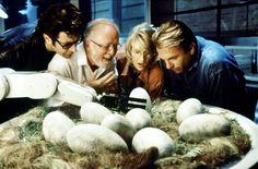 jurassic park | Jurassic Park - Sam Neill - Jeff Goldblum - Laura Dern - Richard ...