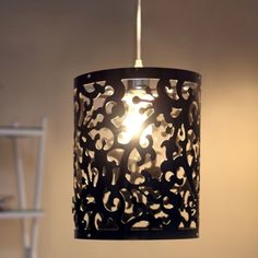 The Kashmir ceiling lamp is an excellent way to add a splash of classic flare to a modern room. This lamp is created from an acrylic that is laser cut into the design.